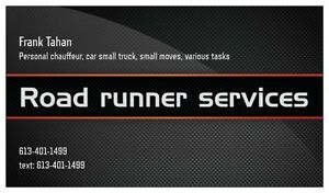 Need to run errands....? small delivery? messanger?