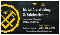 Experienced Welder for Hire