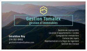 Gestion immobilière - Montréal / Laval / Rive-Nord