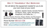 Do It Yourself DJ Service any events Weddings, Birthday parties