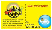 Need a ride to School, Mall, Appointments?