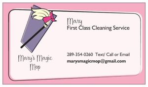 Mary's Magic Mop Cleaning Services
