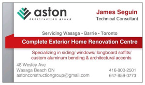 Exterior Renovation Specialist for Longboard & Vinyl Siding