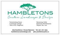 Hambletons Custom Landscape & Design