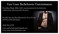 Male Entertainers, Bachelorette Party Planning and More
