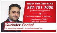 Super Visa / Visitor Medical Insurance 587-707-7000