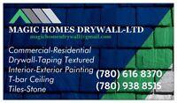 MAGIC HOMES DRYWALL & RENOVATIONS