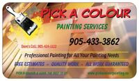 Pick A Colour Painting Services
