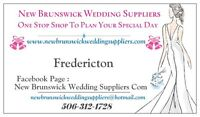 Fredericton Wedding Suppliers Officiants Decorators Cakes