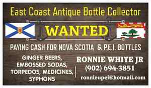 Looking for ANTIQUE BOTTLES
