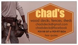 Chad's   Decks and Fences