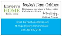 Brayley's Home Childcare