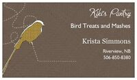 Kiki's Pantry - Bird Treats and Mashes