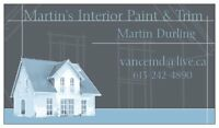 Martin's Interior Paint and Trim