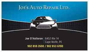 Joe's Auto Repair Ltd.