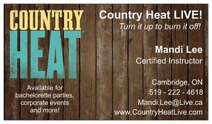 Country Heat LIVE Certified Instructor Available for Hire! Cambridge Kitchener Area image 4