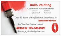 Ballo Painting / Painter Over 10 years of professional experien