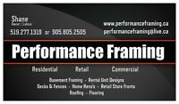 Performance Framing