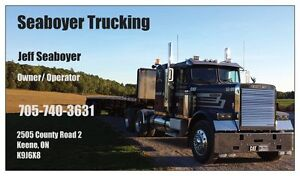 Trucking for hay and equipment Peterborough Peterborough Area image 1