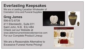 WERE THE LEADING CANADIAN SUPPLIER OF COMPANION CREMATION URNS