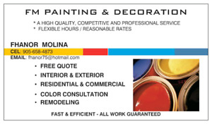 GET YOUR HOUSE PAINT IN SPRING- GREAT PRICES & HIGH QUALITY