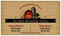 The Barn Recording Studio - Recording/Mixing/Production