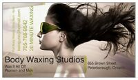 Waxing, Waxing, Waxing.. Brazilian for Women and Men