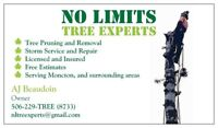 Tree Removal and Services Moncton, don't miss special offers