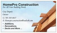 HomePro Construction