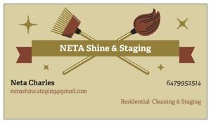 Affordable Cleaning & Staging- Residential and New Construction