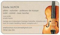 Cours de musique / music lessons (violon/violin- théorie/theory)