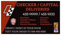 CHECKER DELIVERIES--- DRIVERS WANTED!!