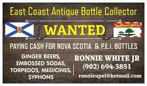 LOOKING FOR PRINCE EDWARD ISLAND BOTTLES