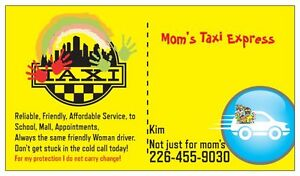 Need a Ride, Call or Text Moms Pick Up Express Kitchener / Waterloo Kitchener Area image 1