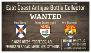 Ginger beer bottles WANTED