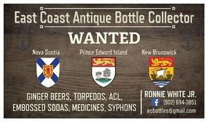 East Coast Antique Bottle Collector