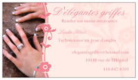 Technicienne en pose d ongles