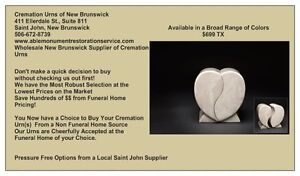 CREMATION URNS OF NEW BRUNSWICK