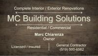 Interior/Exterior Renovations