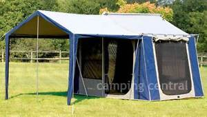 Oz Trail 12x9 Canvas Tent Sylvania Sutherland Area Preview