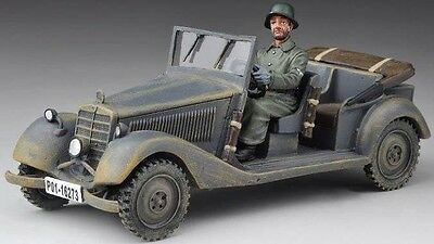 THOMAS GUNN WW2 GERMAN NORMANDY SS042 POLIZEI STAFF CAR MIB