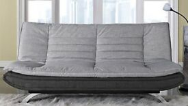 Brand New Sofa bed - grey fabric RRP £210