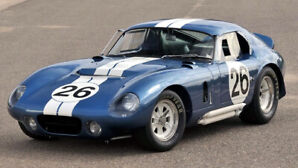 1965 Shelby Cobra Daytona WANTED
