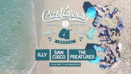 2 x CASTAWAY ROTTNETS Tickets (including return ferry tickets)