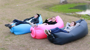 Inflatable hammock sofa air bed