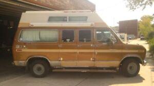 recherche toit campeur ford econoline long
