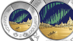 2017 Glow in a Dark Toonie Available and other coins