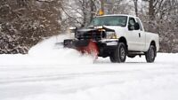 Residential and commercial snow plowing!