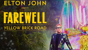 Elton John - Scotiabank Arena Toronto  23/Oct/2019 - 2 Tickets