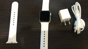 Apple Watch Series 2 38mm GPS White Sport Bandcomes with origi